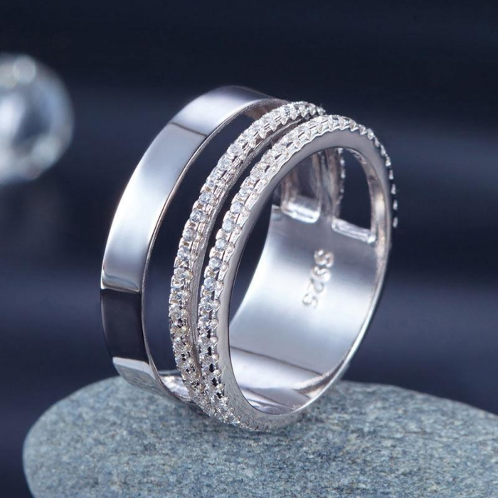 Verigheta Borealy Argint 925 New Style Design Solid Masura 7 2
