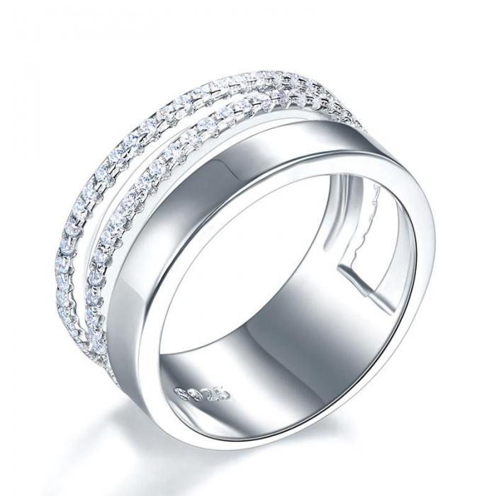 Verigheta Borealy Argint 925 New Style Design Solid Masura 7 0