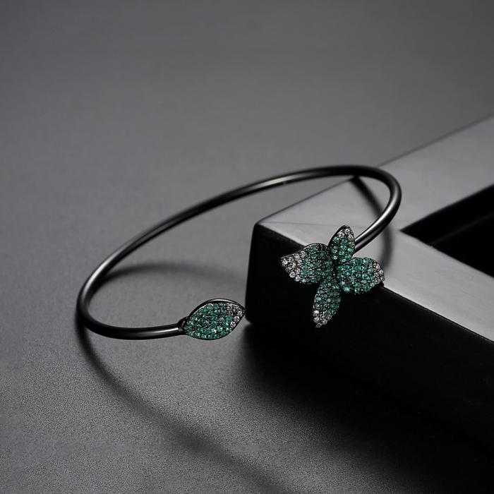 Bratara Leaf Black Luxury 2