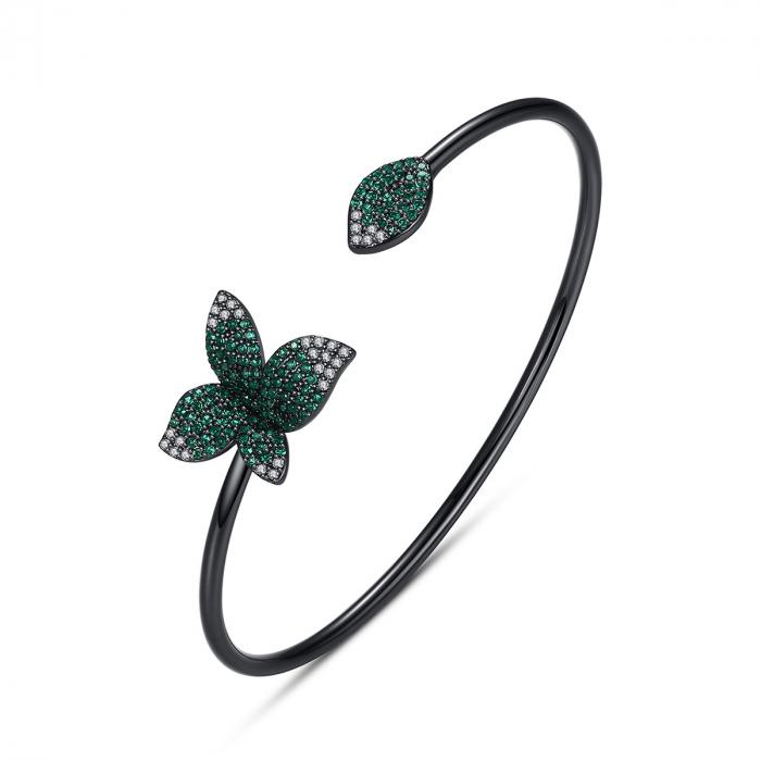 Bratara Leaf Black Luxury 0