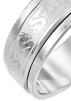 Inel Borealy Bărbaţi Dragon Spinner Marimea 8,5 3