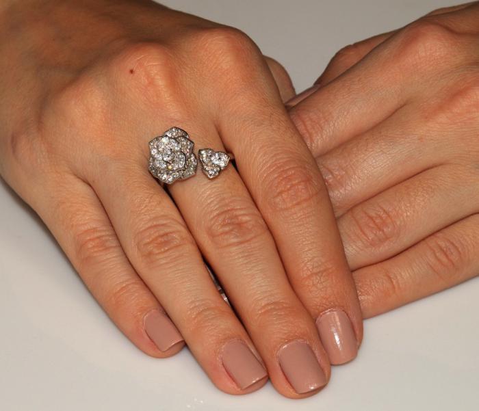 Inel Borealy Argint 925 Luxury En Rose 1
