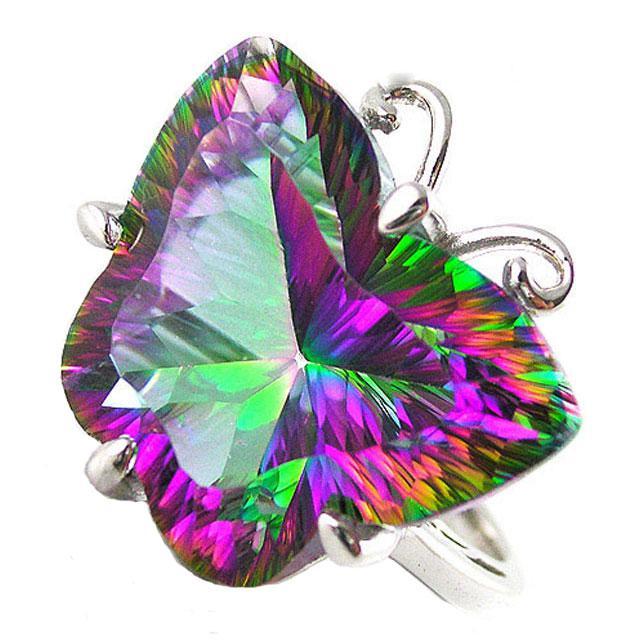 Inel Butterfly Mystic Topaz Marimea 6 0