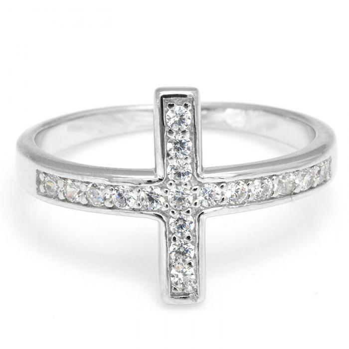 Inel Borealy Argint 925 Cross Solid Marimea 6 3