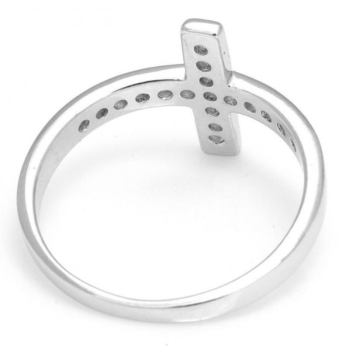 Inel Borealy Argint 925 Cross Solid Marimea 6 4