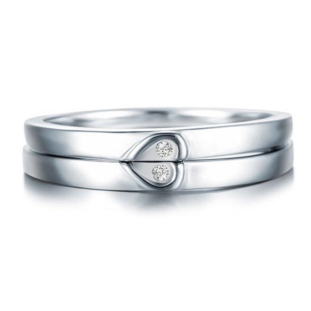 Inel Borealy Argint 925 Doble Heart Marimea 6 0