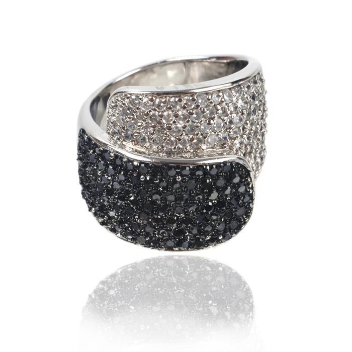 Inel Black Colours Crystal Glow Marimea 6 0