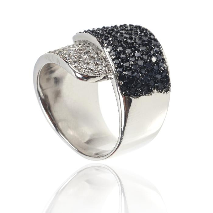 Inel Black Colours Crystal Glow Marimea 6 3