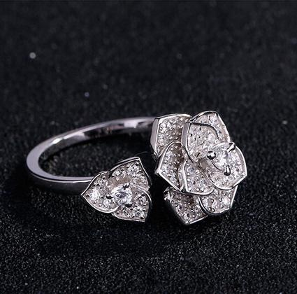 Inel Borealy Argint 925 Luxury En Rose 2