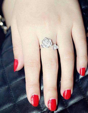 Inel Borealy Argint 925 Luxury En Rose 6