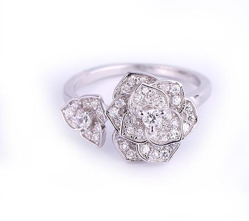 Inel Borealy Argint 925 Luxury En Rose 5