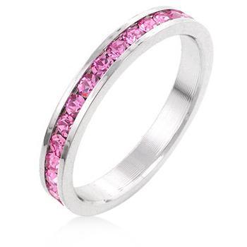 Inel Pink Eternity 1