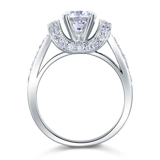 Inel Borealy Argint 925 Simulated Diamond Glamour Wedding Mărimea 7 4