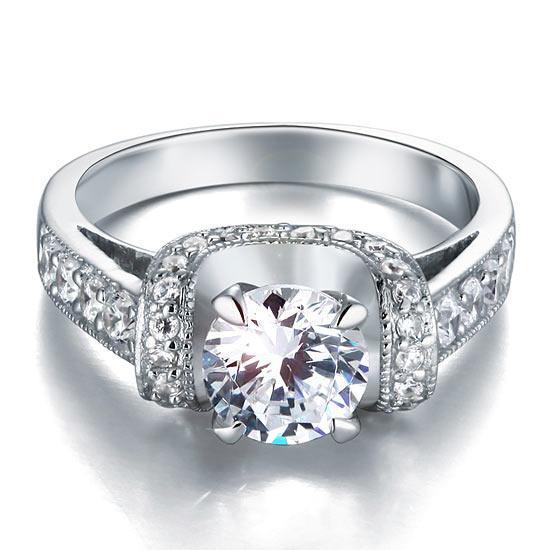 Inel Borealy Argint 925 Simulated Diamond Glamour Wedding Mărimea 7 5
