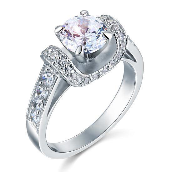 Inel Borealy Argint 925 Simulated Diamond Glamour Wedding Mărimea 7 0