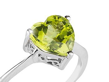 Inel Green Dream Peridot Natural 1,81 carate-big