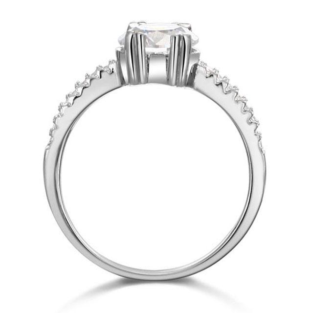 Inel Borealy Argint 925 Logodna Julieta Marimea 6-big