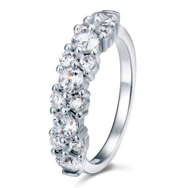 Inel Borealy Argint 925 Created Diamond 2.5 Carate Logodna Luxury Marimea 8-big