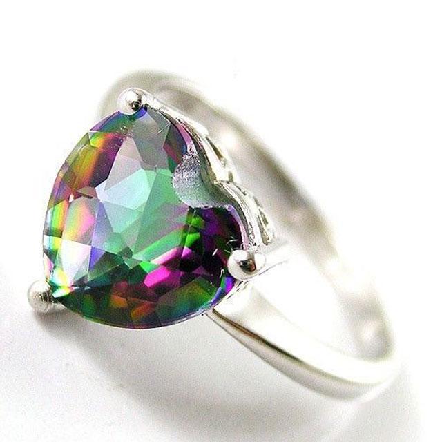 Inel Love Mistic Topaz 2,30 carate Argint 925 Marimea 7 2