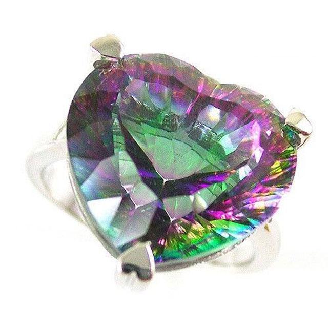 Inel Love Mistic Topaz 2,30 carate Argint 925 Marimea 7 1