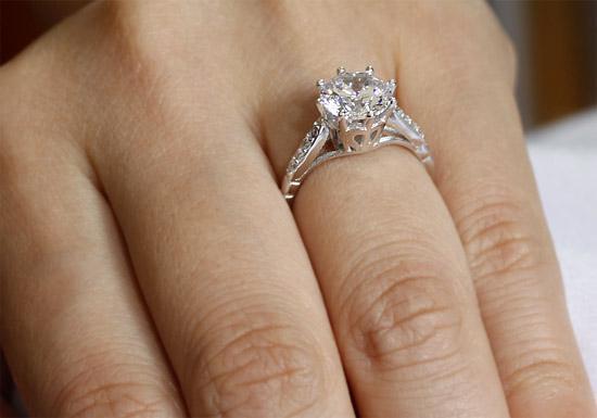 Inel Love Wedding Simulated Diamond Argint 925 Mărimea 6 1