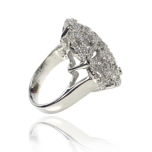 Inel Borealy Simulated Diamonds Paris Lights Marimea 6 3