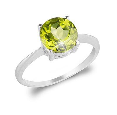 Inel Peridot Natural 1,85 carate-big