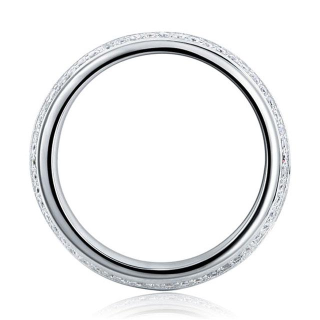 Inel Borealy Argint 925 Created Diamond Verigheta Marimea 6-big