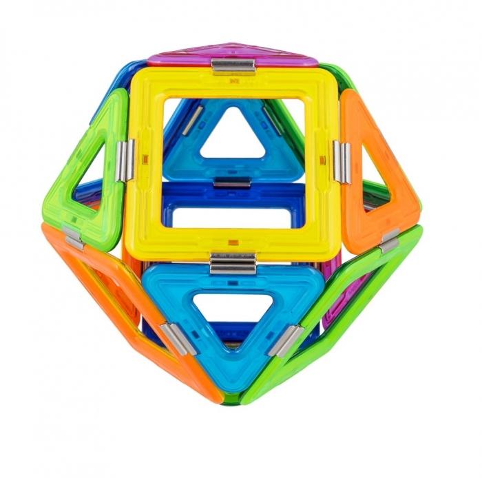 Joc Magnetic Educativ de Constructie 3D Magic Ball Set - Magspace 26 Piese [2]