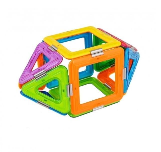 Joc Magnetic Educativ de Constructie 3D Magic Ball Set - Magspace 26 Piese [3]