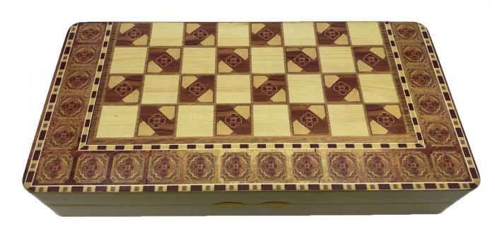 Joc Table si Sah - Wooden Box [0]