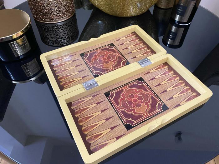 Joc Table si Sah - Wooden Box [4]