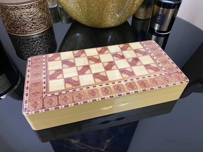 Joc Table si Sah - Wooden Box [3]