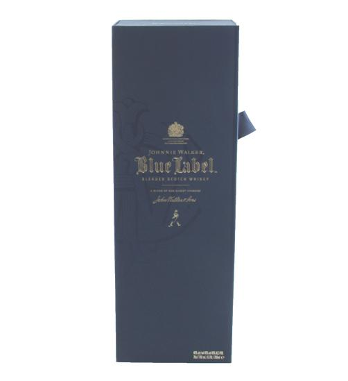Johnnie Walker Blue Label & Butoni World Map Silver & Blue 4
