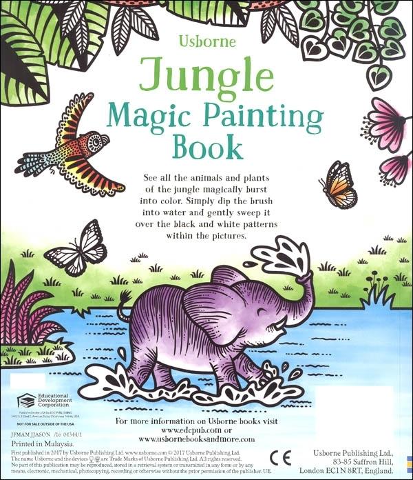 Jungle Magic Painting Book [6]