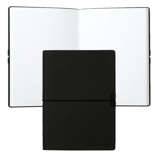 Set Leather Wallet Bank Note Black S.T. Dupont si Note Pad Black Hugo Boss 5