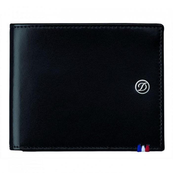 Set Leather Wallet Bank Note Black S.T. Dupont si Note Pad Black Hugo Boss 2