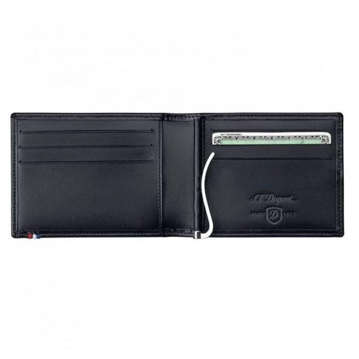 Set Leather Wallet Bank Note Black S.T. Dupont si Note Pad Black Hugo Boss 3