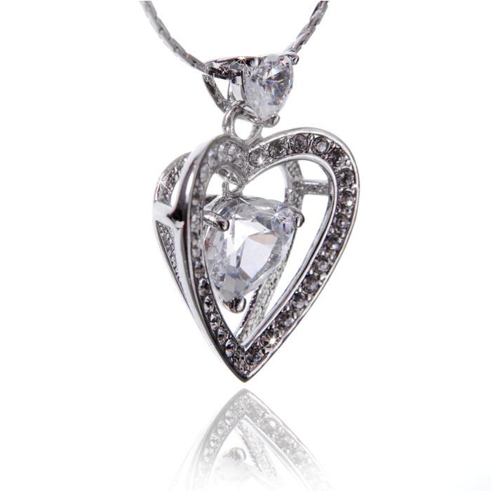 Colier Borealy Diamonds Love... Love... Love...-big