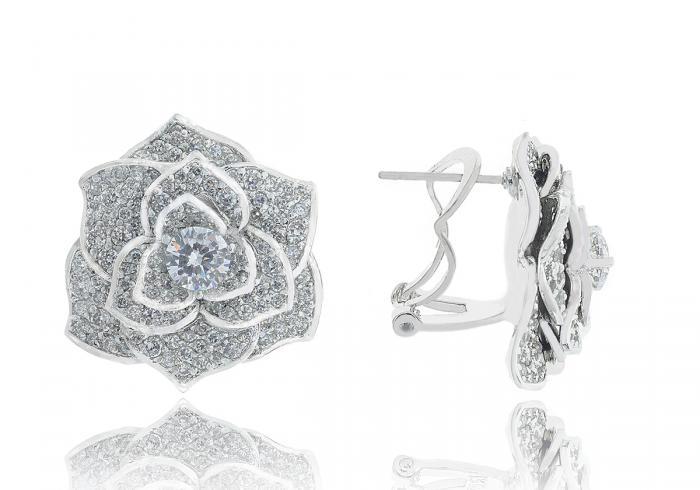 Luxury Rosa Set Cercei Borealy Colier Si Inel 2