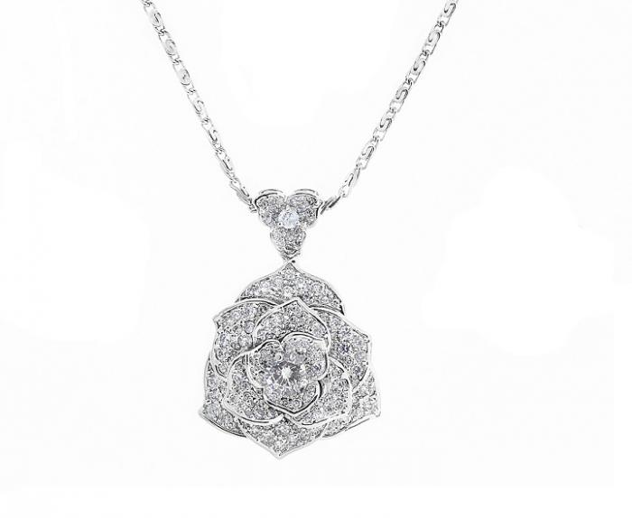 Luxury Rosa Set Cercei Borealy Colier Si Inel 4