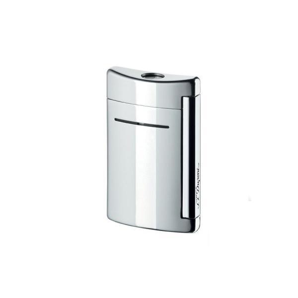 Set Minijet Lighter Silver S.T. Dupont si Note Pad Grey Hugo Boss-big