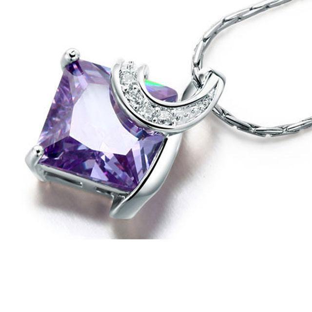 Colier Borealy Purple Sapphire Princess-big
