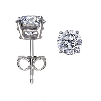 Nina Ricci Granite Grey Pix si Cercei Borealy Large One Diamond Round [1]