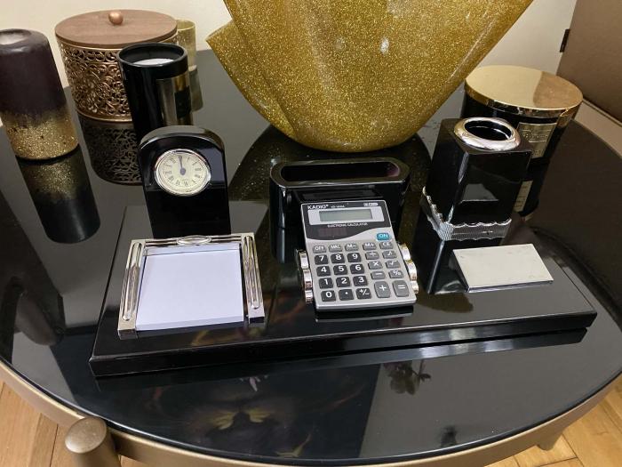 Office Business Desk Black Premium [3]
