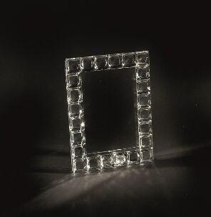 """Rama foto cristal QUADRETTI 13 X 18  """"LUX""""  Desk by Chinelli, made in Italy 1"""