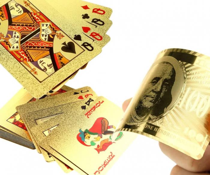 Paco Rabanne 1 Million 100 ml & Carti de joc Gold 4