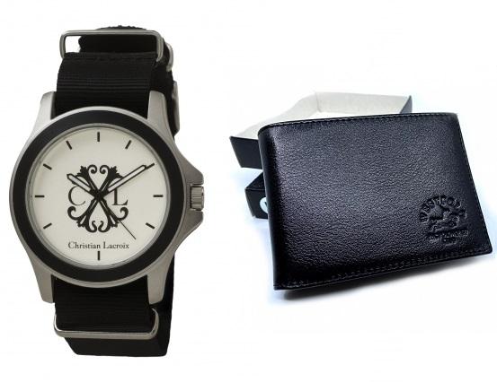 Passion for Watches Ceas Christian Lacroix + CADOU Portofel West Polo din piele naturala [0]