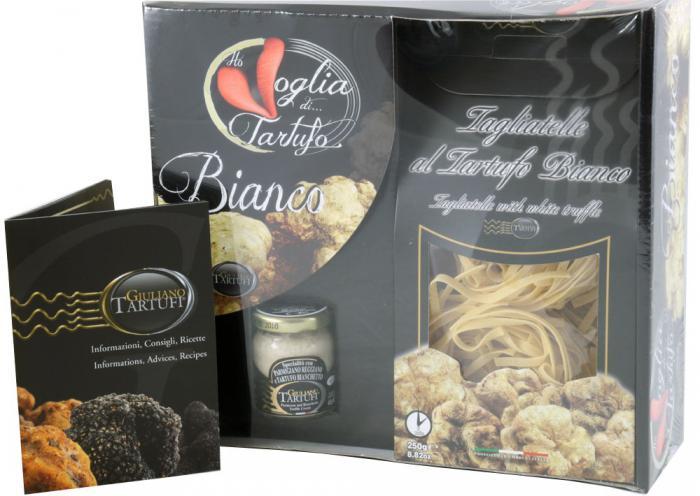 Royal White Truffles Gift Set, cu Trufe de Pădure Albe, made in Italy by Giuliano Tartufi-big