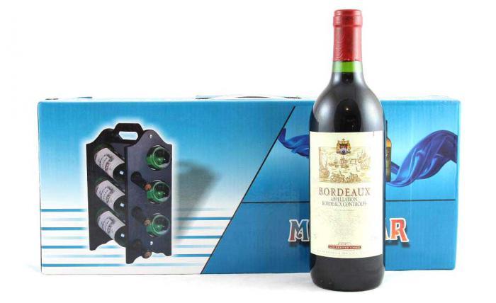 Suport sticle de vin 0